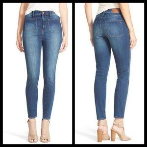 Madewell High Waisted Sailor Jeans